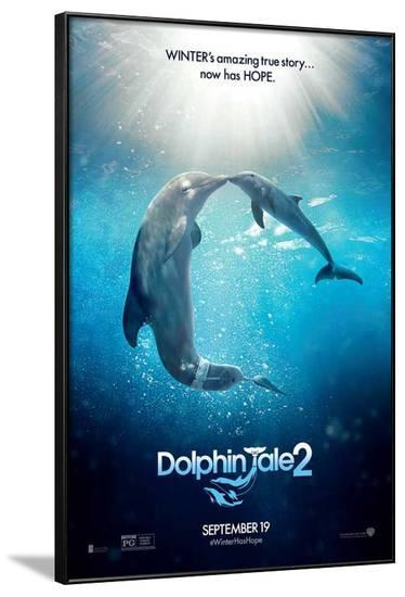 Dolphin Tale 2--Framed Poster