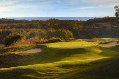 Crystal Downs Country Club, deep bunkers