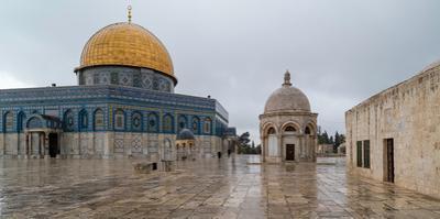 Dome of the Rock, Temple Mount (Haram esh-Sharif), Old City, Jerusalem, Israel