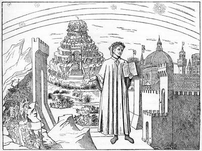 Dante (1265-132), Florence and the Seven Circles of Hell, 1882