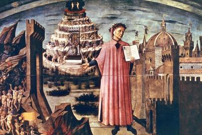 Dante and His Poem the 'Divine Comedy, 1465