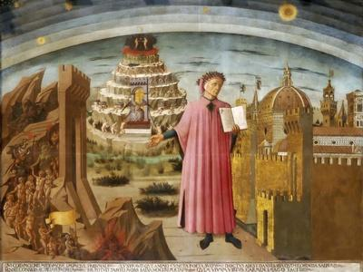 Dante and the Divine Comedy' (The Comedy Illuminating Florenc), 1464-1465