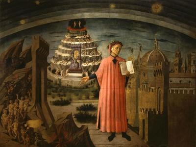 La Divina Commedia Illumina Firenze, Dante Aligheri