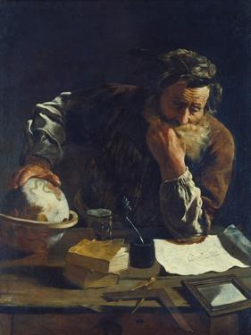 Archimedes by Domenico Fetti