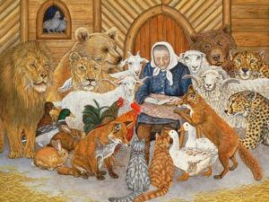 Bedtime Story on the Ark, 1994 by Domenico Fetti or Feti