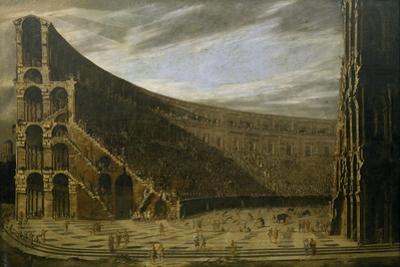 Perspective of a Roman Amphitheatre