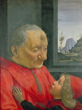 An Old Man and a Boy, 1480s