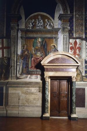 Fresco Details by Domenico Ghirlandaio