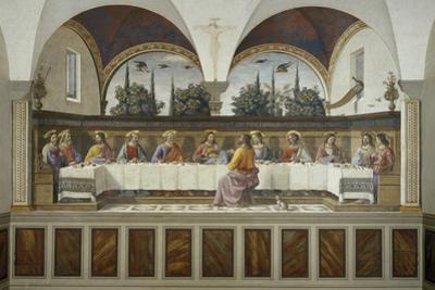 Last Supper by Domenico Ghirlandaio