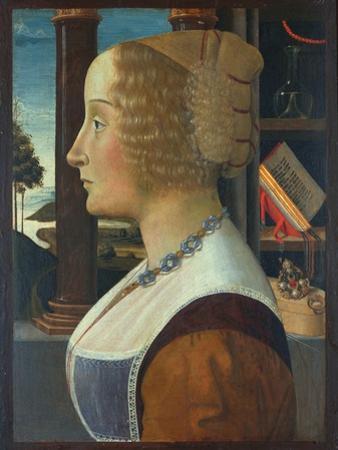 Portrait of a Woman, C.1490 by Domenico Ghirlandaio