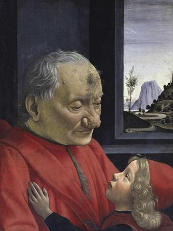 Portrait of an Old Man and His Grandson
