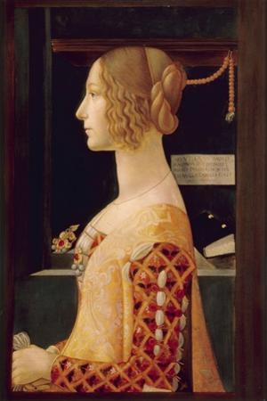 Portrait of Giovanna Tornabuoni, C.1899 by Domenico Ghirlandaio