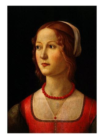 Portrait of Young Woman, 1485