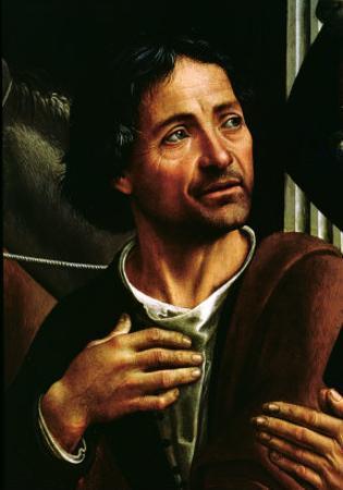 Self Portrait by Domenico Ghirlandaio