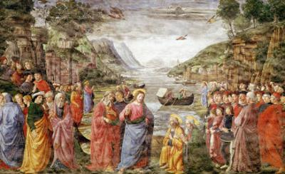 The Calling of Ss. Peter and Andrew, 1481 by Domenico Ghirlandaio