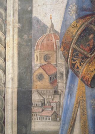The Duomo, Detail from the Fresco in the Sala Dei Gigli, C1470 (Fresco) by Domenico Ghirlandaio