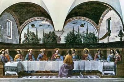 The Last Supper, 1480 by Domenico Ghirlandaio