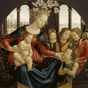Vierge à l'Enfant by Domenico Ghirlandaio