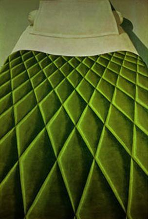 Green Bed Cover, c.1969