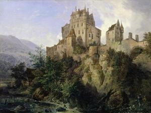 Eltz Castle by Domenico II Quaglio