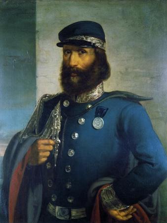 Giuseppe Garibaldi as General of Sardinian Army, 1859