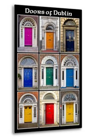 The Old Georgian Doors Of Dublin by Domenico Matteo