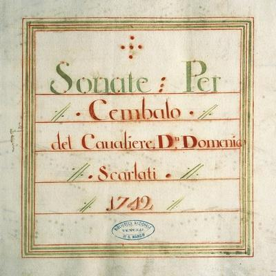 Collection of Sonatas for Harpsichord