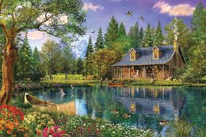 Crystal Lake Cabin by Dominic Davison