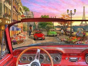 Paris in a Car by Dominic Davison