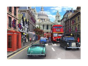 St Paul's Street Scene by Dominic Davison
