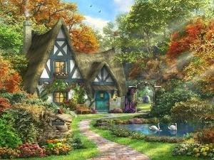The Autumn Cottage by Dominic Davison