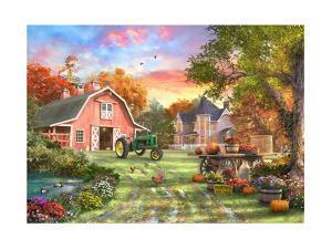 The Autumn Farm by Dominic Davison