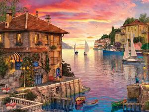 The Mediterranean Harbour by Dominic Davison
