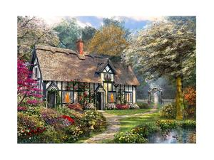 Victorian Garden Cottage by Dominic Davison