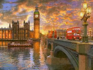 Westminster Sunset by Dominic Davison