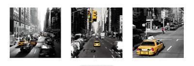 Yellow Cab, New York by Dominique Obadia