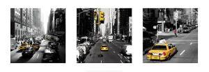 Yellow Cab, New York by Dominique Obadia
