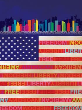 American Flag by Dominique Vari