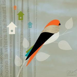 Birds Life - Home Sweet Home by Dominique Vari