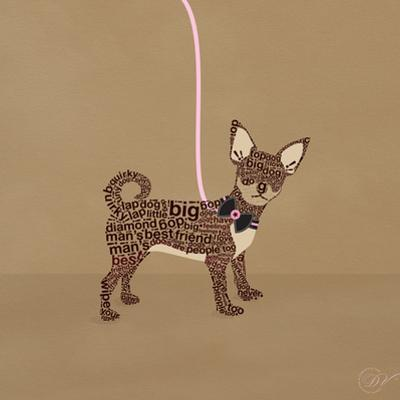 Chihuahua on Beige