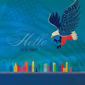 New York - Eagle by Dominique Vari