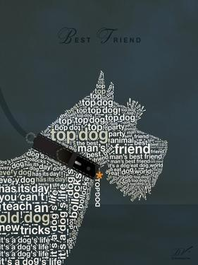 Scottish Terrier Best Friend by Dominique Vari