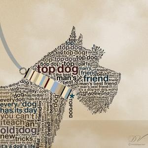 Scottish Terrier Portrait by Dominique Vari