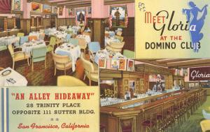 Domino Club, San Francisco, California