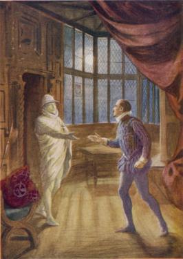 """""""Don Giovanni"""" the Commendatore Accepts the Don's Supper Invitation"""