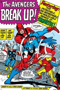 Avengers Classic No.10 Group: Captain America, Iron Man and Giant Man by Don Heck