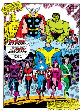 Giant-Size Avengers No.1 Group: Iron Man by Don Heck