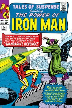 Tales Of Suspense No.54 Cover: Iron Man and Mandarin by Don Heck