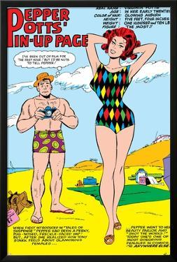 Tales Of Suspense No.55: Pepper Potts and Virginia by Don Heck