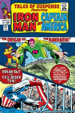 Tales Of Suspense No.62 Cover: Iron Man, Captain America and Mandarin by Don Heck